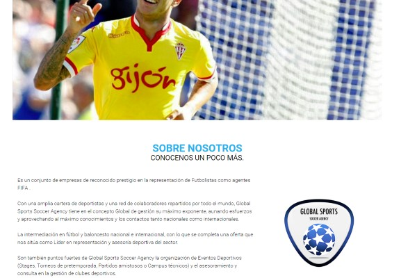 globalsportssoccer la agencia de futbolistas de Raúl Verdú