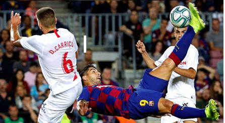 FC Barcelona 4 - Sevilla 0. Análisis del partido